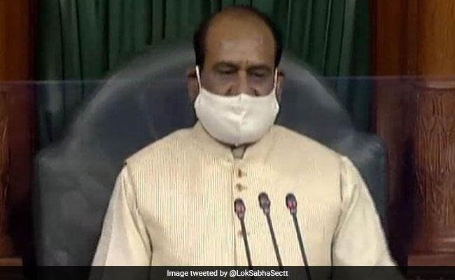 Om Birla To European Parliament Chief