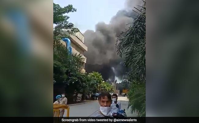 None Hurt In Blaze At Delhi's Sarfdarjung Hospital