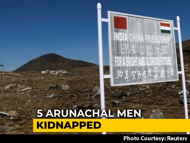 """Video : Arunachal Cops Sent To Probe Reports Of 5 Men """"Kidnapped"""" By Chinese Army"""
