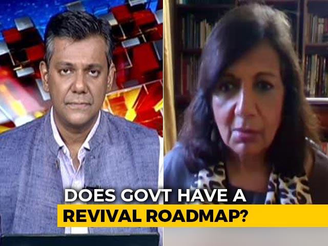 Video : More Lockdowns Won't Help In Economic Revival: Kiran Mazumdar Shaw To NDTV