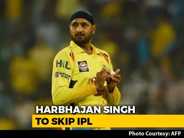 "After Raina, Harbhajan Singh Pulls Out Of IPL, Says ""Personal Reasons"""