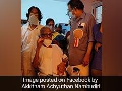 Jnanpith Award Presented To Renowned Malayalam Poet Akkitham