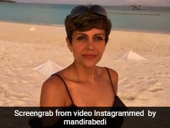 We Can't Get Enough Of Mandira Bedi's Beach Holiday Style