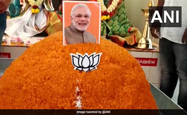 70-kg-laddu-offered-at-coimbatore-temple-to-mark-pm-modi's-70th-birthday