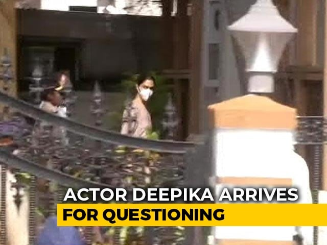 Deepika Padukone Arrives For Questioning In Drugs Probe