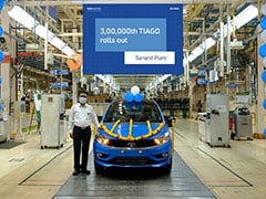 Tata Motors Rolls Out The 300,000th Tiago From Sanand Plant
