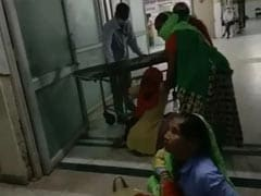 Woman Forced To Deliver At Rajasthan Hospital Entrance, Ordeal On Camera