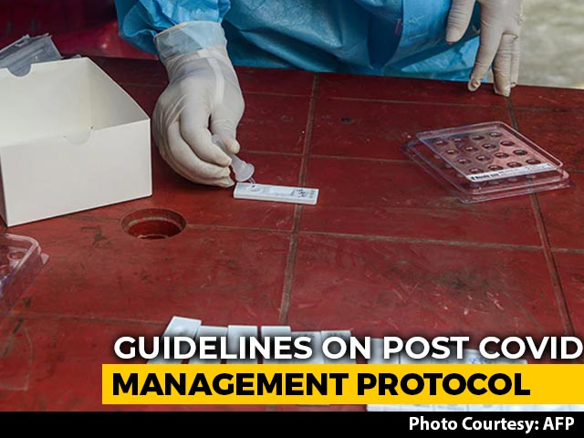 """Video : """"Look For Early Signs"""": New Protocols For Patients Recovering From Covid"""