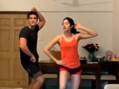 When Janhvi Kapoor And Angad Bedi Danced To This Anil Kapoor Song