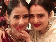 """In Awe Of This Beautiful Soul"": Manisha Koirala Revisits ""Fangirl Moment"" With Rekha"