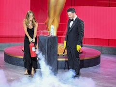 Emmys 2020: Jennifer Aniston And Jimmy Kimmel Set The Stage On Fire (Literally)