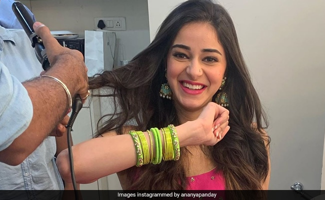 Khaali Peeli: Ahead Of The Film's Release, Ananya Panday Shares Pics From Her First Look Test As Pooja