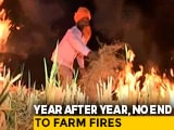Video : 43 Cases of Stubble Burning in Punjab