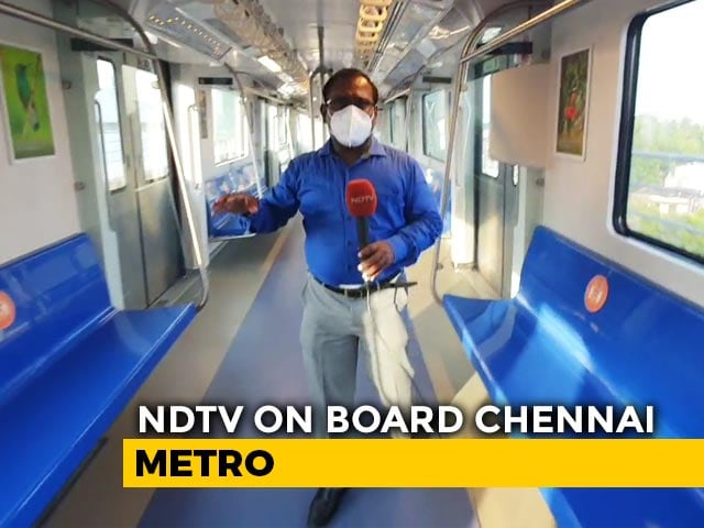 Video : Metro Trains Resume In Chennai, Strict Measures Taken To Ensure Passenger Safety