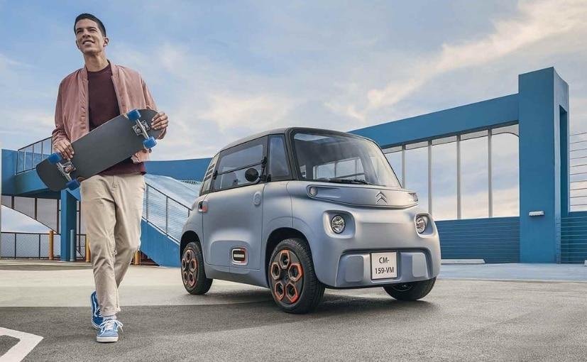 Citroën's All-Electric Ami Can Be Driven By 14 Year Olds In France