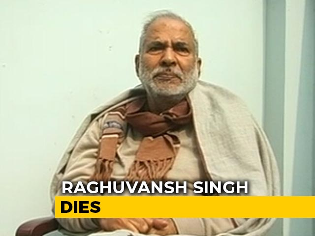Video : Raghuvansh Singh, Who Quit Lalu Yadav's Party Days Ago, Dies In Delhi