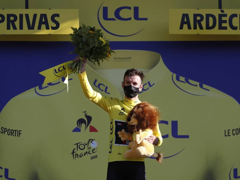 Tour de France: Wout Van Aert Wins Fifth Stage As Adam Yates Takes Overall Lead
