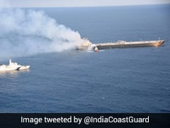 "Oil Tanker Fire Near Sri Lanka Coast ""Under Control"", Vessel Towed Away"