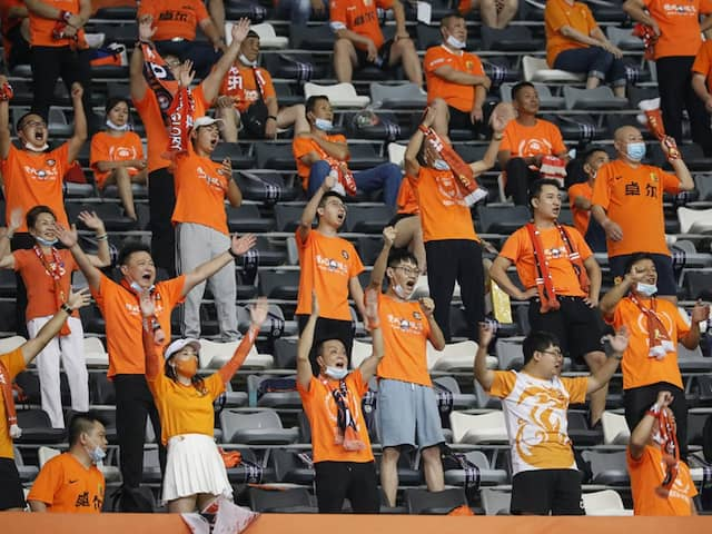 Wuhan Zall Fans Burst Into Tears As They Attend First Match Since Coronavirus Pandemic