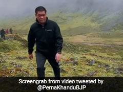 Arunachal Pradesh Chief Minister Treks For 11 Hours To Meet Residents Of Remote Village