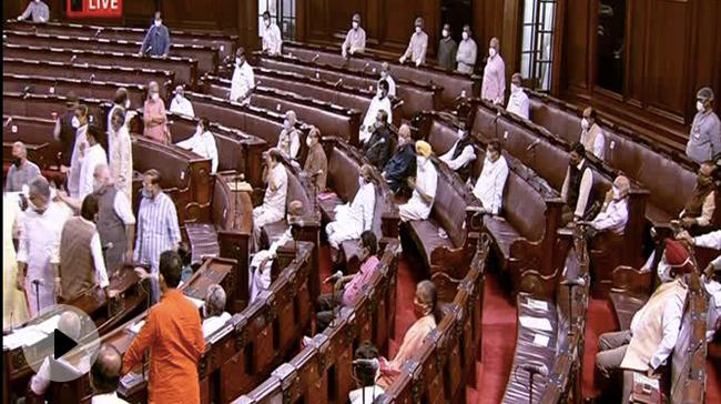 राज्यसभा में हंगामा करने वाले सांसदों के निलंबन का प्रस्ताव ला सकती है सरकार: सूत्र