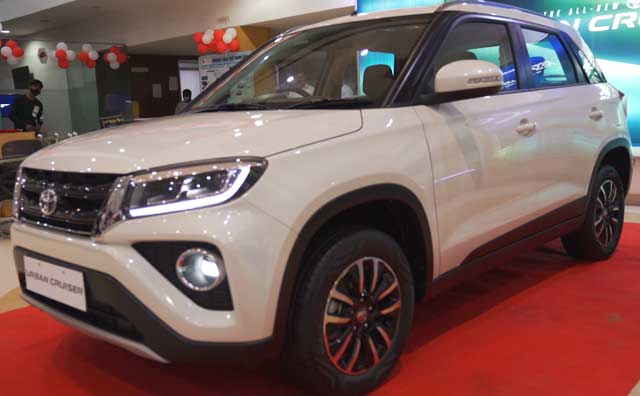 Videos : Toyota Urban Cruiser First Look In Hindi