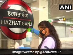 Lucknow Metro Restarts Tomorrow, Ultraviolet Technology To Sanitise Tokens