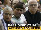 Video : Babri Demolition Case: All 32 Accused Including LK Advani Acquitted