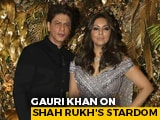 "Video : ""Took A Long Time To Sink In That Shah Rukh Has Arrived"": Gauri Khan To NDTV"
