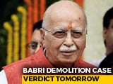 Video : Babri Judgment Today, BJP's LK Advani, MM Joshi Won't Be In Court