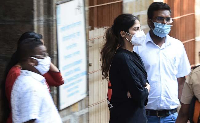 Rhea Chakraborty Taken To Mumbai Jail After Night At Probe Agency Office