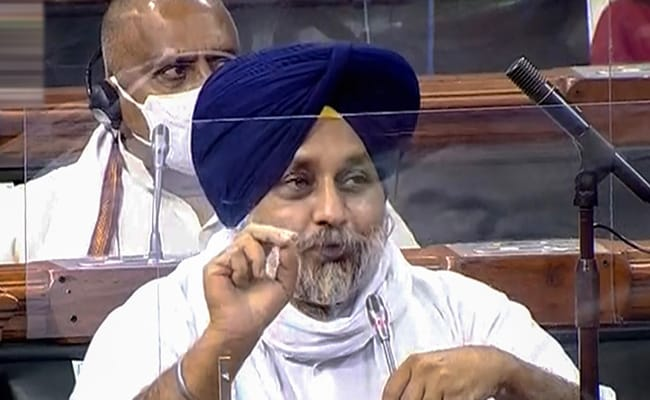 Farmers' Interest Supreme, Will Vote Against New Bills Listed By Centre: Sukhbir Badal