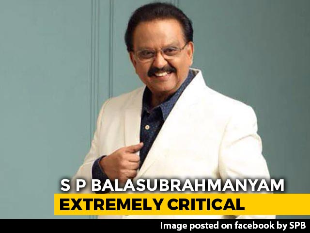 Video : Singer S P Balasubrahmanyam On Maximum Life Support; Kamal Haasan Visits Hospital