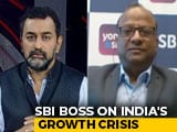 "Video : ""GDP Numbers Not Deeply Worrying"": SBI Chairperson To NDTV"