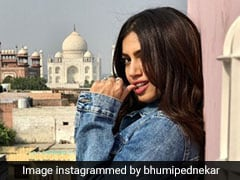 Bhumi Pednekar's Denim Jacket Made Us Overlook The Taj In The Background