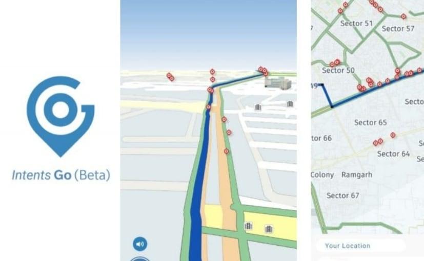 Intents Go Navigation App Detects Potholes On Roads