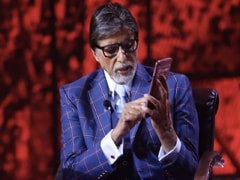 """Addicted To <i>Kaun Banega Crorepati</i>"": Amitabh Bachchan Posts New Pics From The Sets Of The Show"