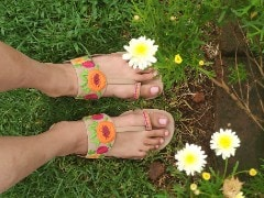 Give A Boho-Chic Touch To Your Footwear With Fun, Colourful Sandals