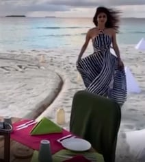 Mouni's Birthday Celebrations Were All About Slow Dancing On The Beach