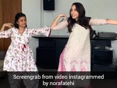 नोरा फतेही ने ट्रेडिशनल आउटफिट में किया जबरदस्त डांस- देखें Video