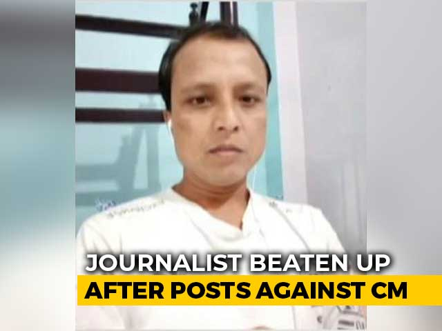 Video : After Facebook Post On Chief Minister, Tripura Journalist Thrashed