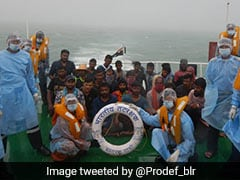24 Fishermen Rescued Off Karnataka Coast As Heavy Rain Batters State