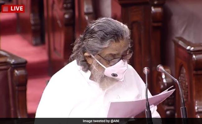 Shibu Soren, 14 Others Take Oath As Rajya Sabha Members