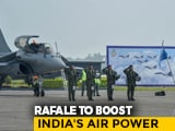 "Video : 5 Rafale Jets Join Indian Air Force's ""Golden Arrows"" Squadron"