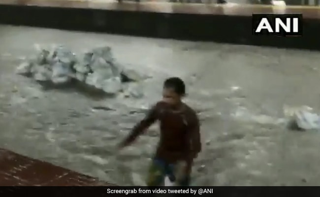 Heavy Rain Leads To Flooding In Several Parts Of Mumbai
