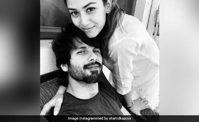 ICYMI: 'Beautiful Inside Out,' Wrote Shahid Kapoor On Wife Mira's Birthday