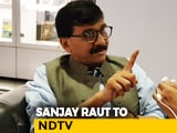 Video : Choice Of Words Could've Been Better: Sanjay Raut On Remarks Against Kangana Ranaut