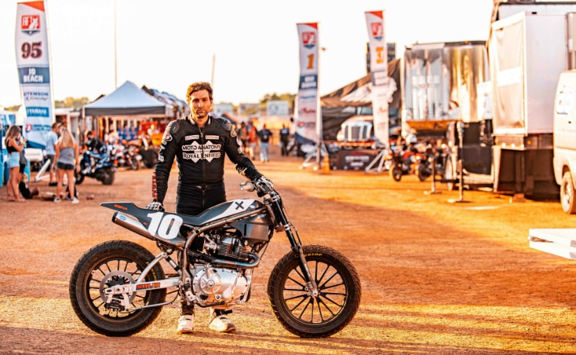 Johnny Lewis, Moto Anatomy x Royal Enfield racer with the Twins FT
