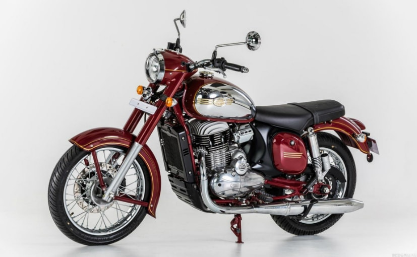 The Jawa Standard will be sold in Europe as the Jawa 300 CL