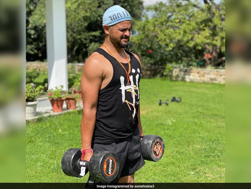 Suresh Raina Trains At Picturesque Location, Shares Video On Instagram